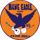 blue eagle music logo